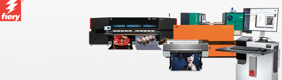 EFI - Fiery for Inkjet - Inkjet Printing and Proofing