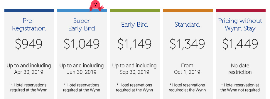 connect pre-registration pricing