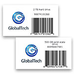 FreeForm Create barcode label