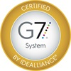 IDEAlliance Certified G7 System seal