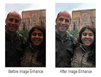Imagen de ejemplo de mejora de la calidad de imagen