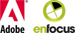 logotipos do Adobe Enfocus