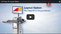 Opzione Layout di EFI Fiery XF
