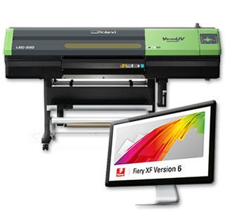 EFI Fiery XF 打印和剪切