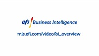 Business Intelligence di EFI