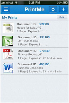 PrintMe Cloud App How it works