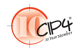 "Logo 2 ""Fiery Integration CIP4 10-Year Member"""