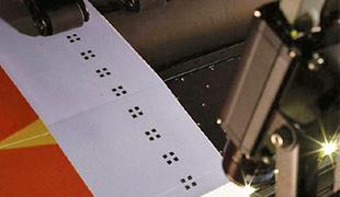 Impressão automática frente e verso em displays retroiluminados