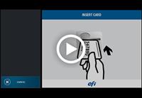 Monitoramento de miniaturas do tour de tela AdminCentral