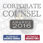 2016 Bay Area Counsel Award