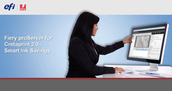 Fiery proServer for Cretaprint 2.0 Smart Ink Savings